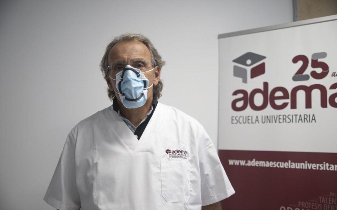 La Escuela Universitaria ADEMA-UIB patenta un dispositivo de cierre de las mascarillas